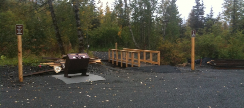 Tenderfoot Creek Campground Refurbishment