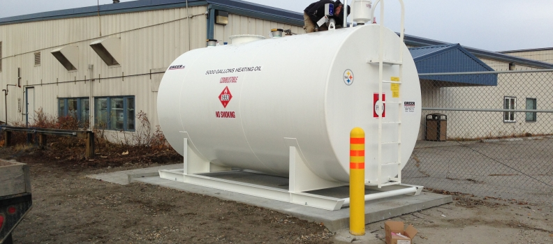 UAF 5000 Gallon Fuel Tank Replacement Project