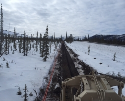 Coldfoot to Deadhorse Long Haul Fiber Project Segment 4 –MP 175‐242 of the Dalton Hwy ~69.9 Miles.