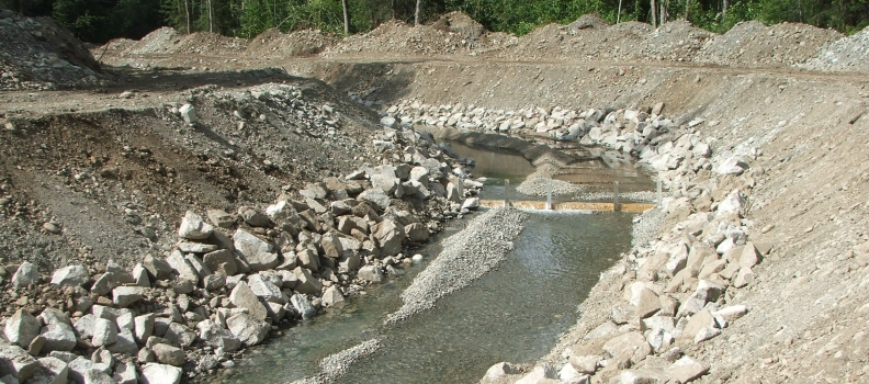 Marx Creek Fish Spawning Channel Project- USDA